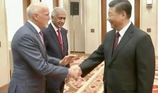 Συνάντηση Γιώργου Παπανδρέου – Σι Ζιν Πινγκ