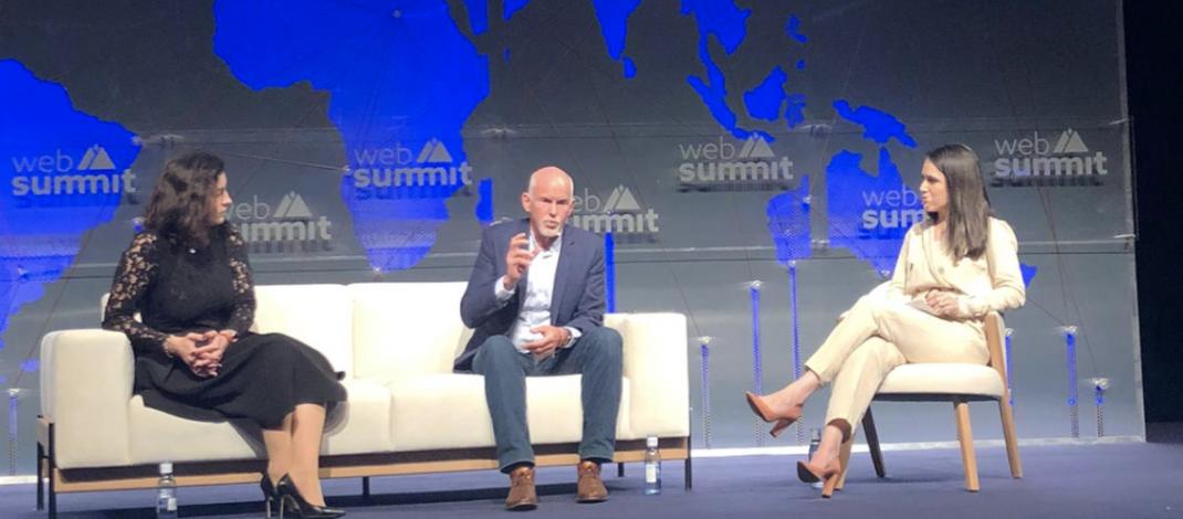 Ο Γ. Παπανδρέου από το Web Summit