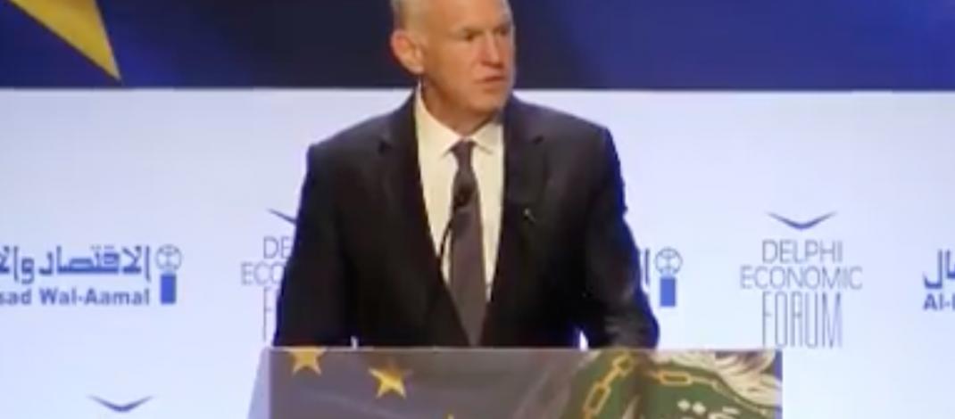 Οι εξελίξεις στην ΕΕ και ο ρόλος του Συμβουλίου της Ευρώπης, οι προκλήσεις της Τουρκίας, το προσφυγικό και τα δυτικά Βαλκάνια, κυριάρχησαν στις συναντήσεις του Γιώργου Παπανδρέου στο Παρίσι